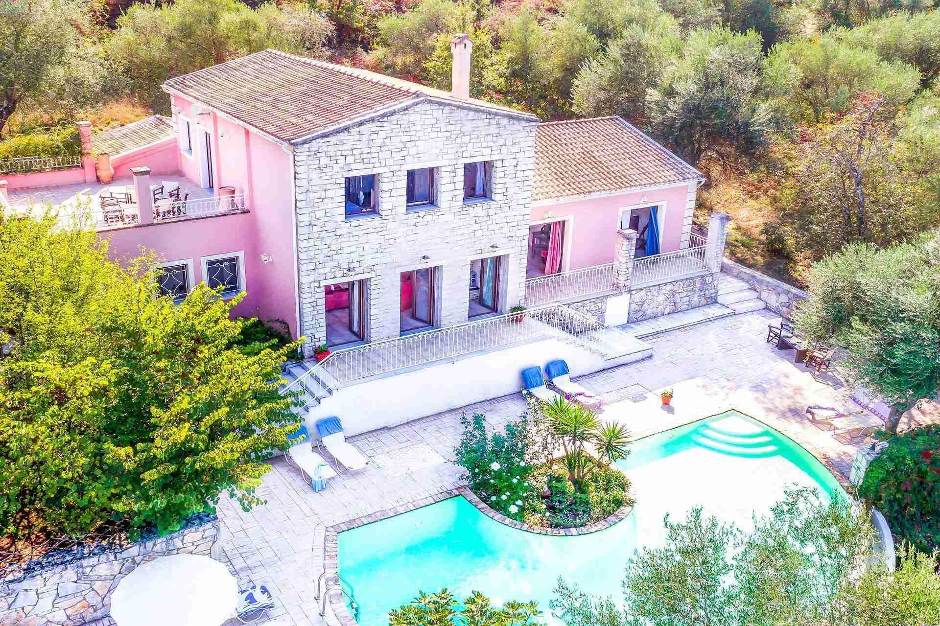 3 Febe villa drone view