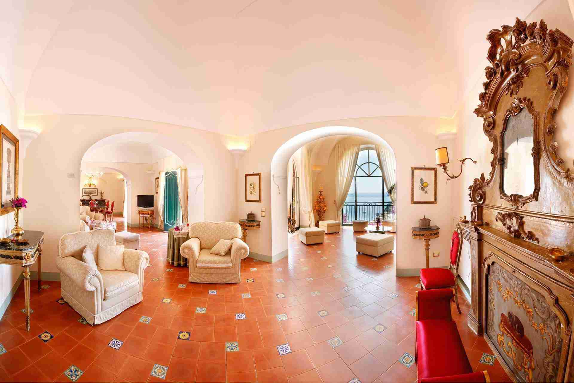 11 Positano living room