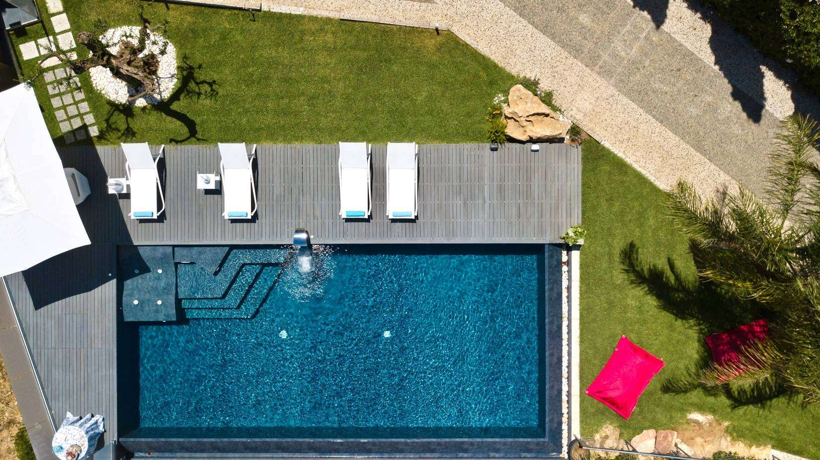 2 Infinity Pool Drone View
