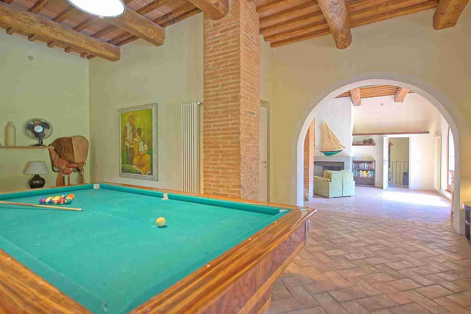 23 Ranieri billiard room