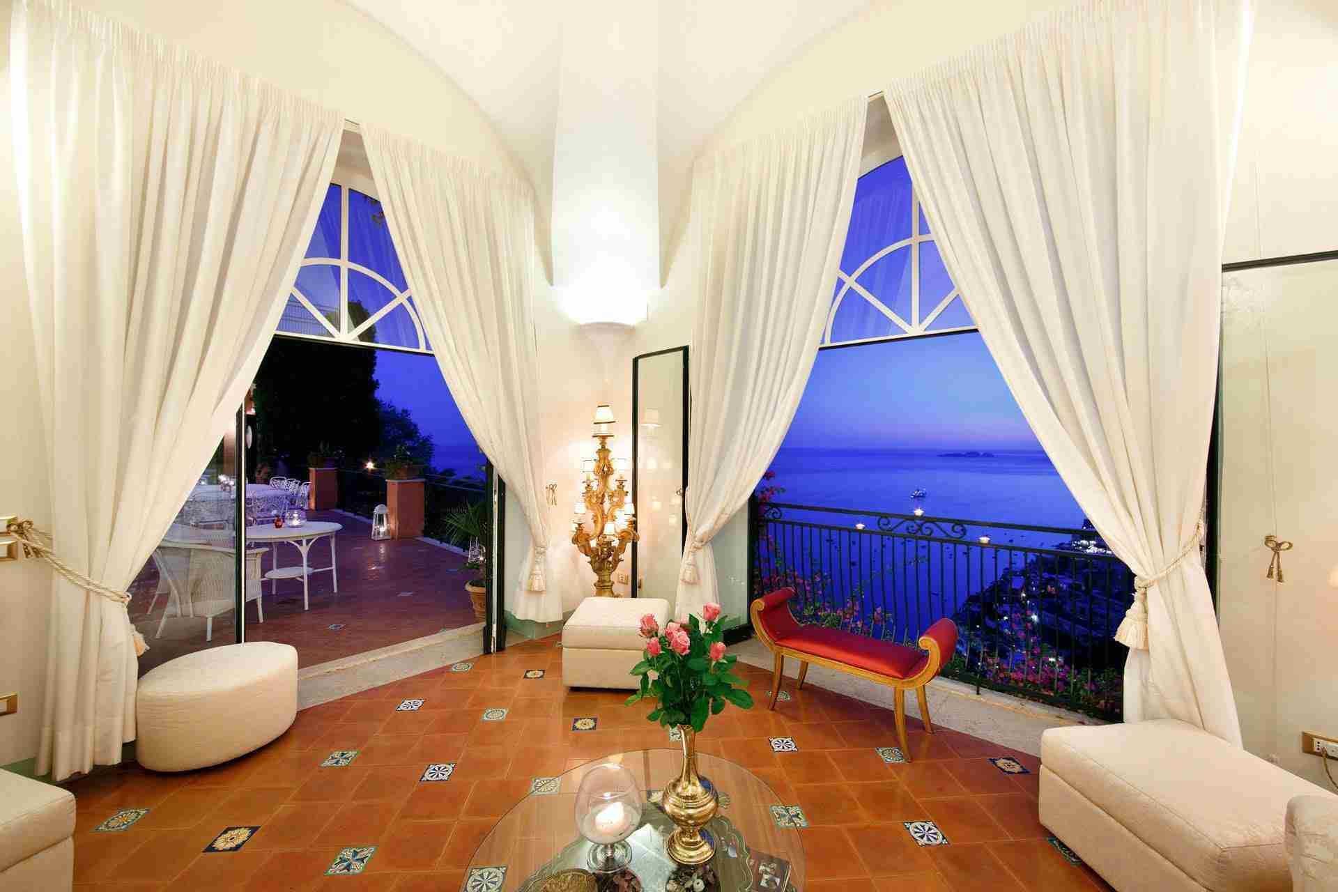 30 Positano night view