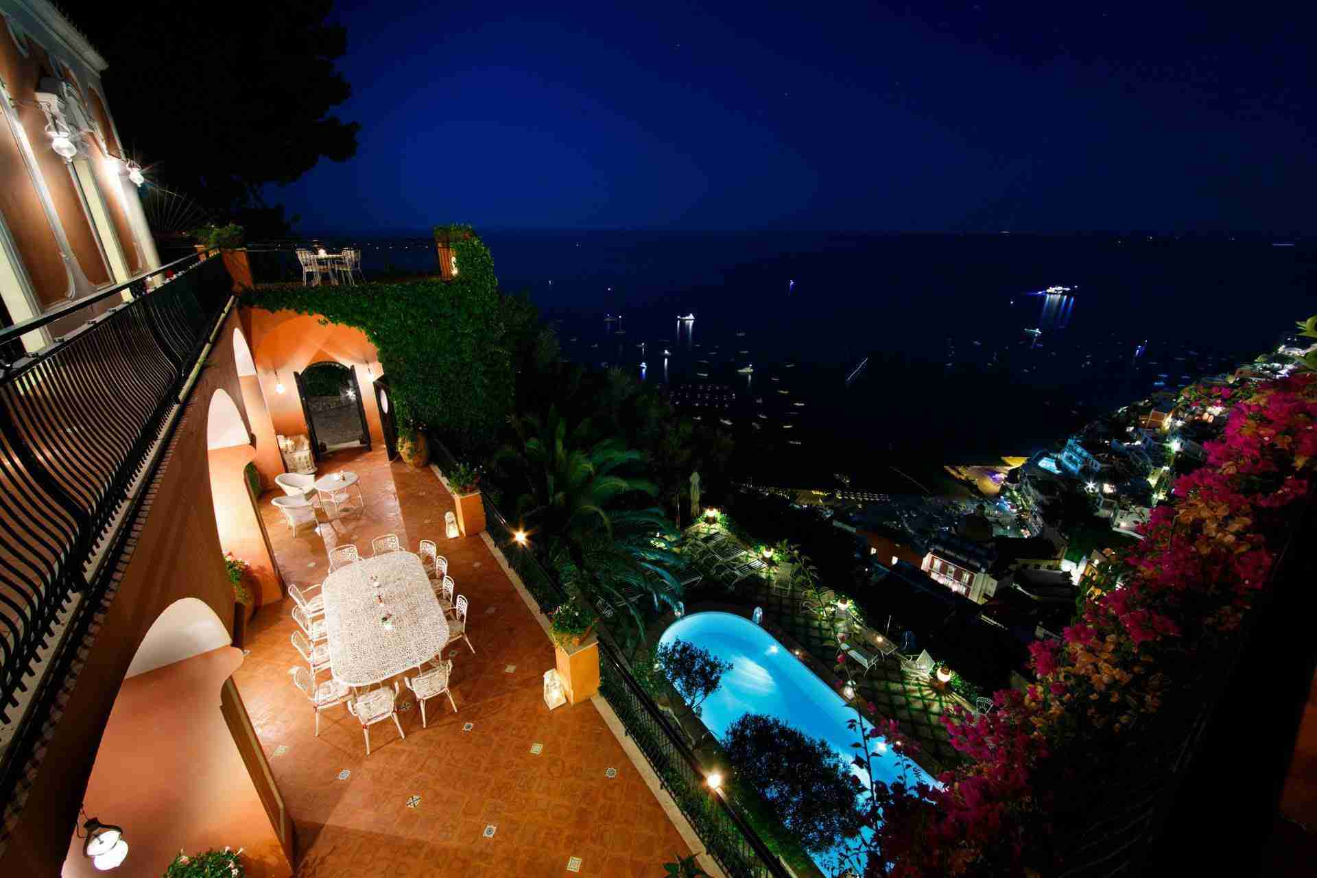 32 Positano night view