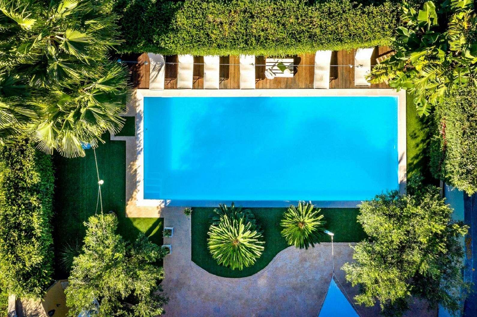32 Dei Mori Pool Drone View 1590