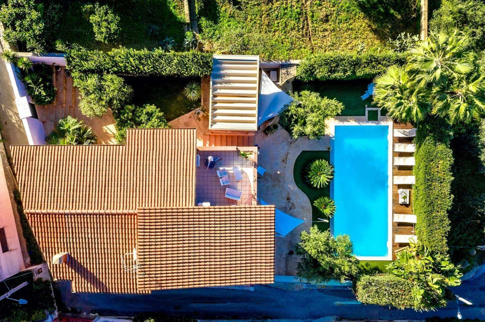 33 Dei Mori Villa Drone View