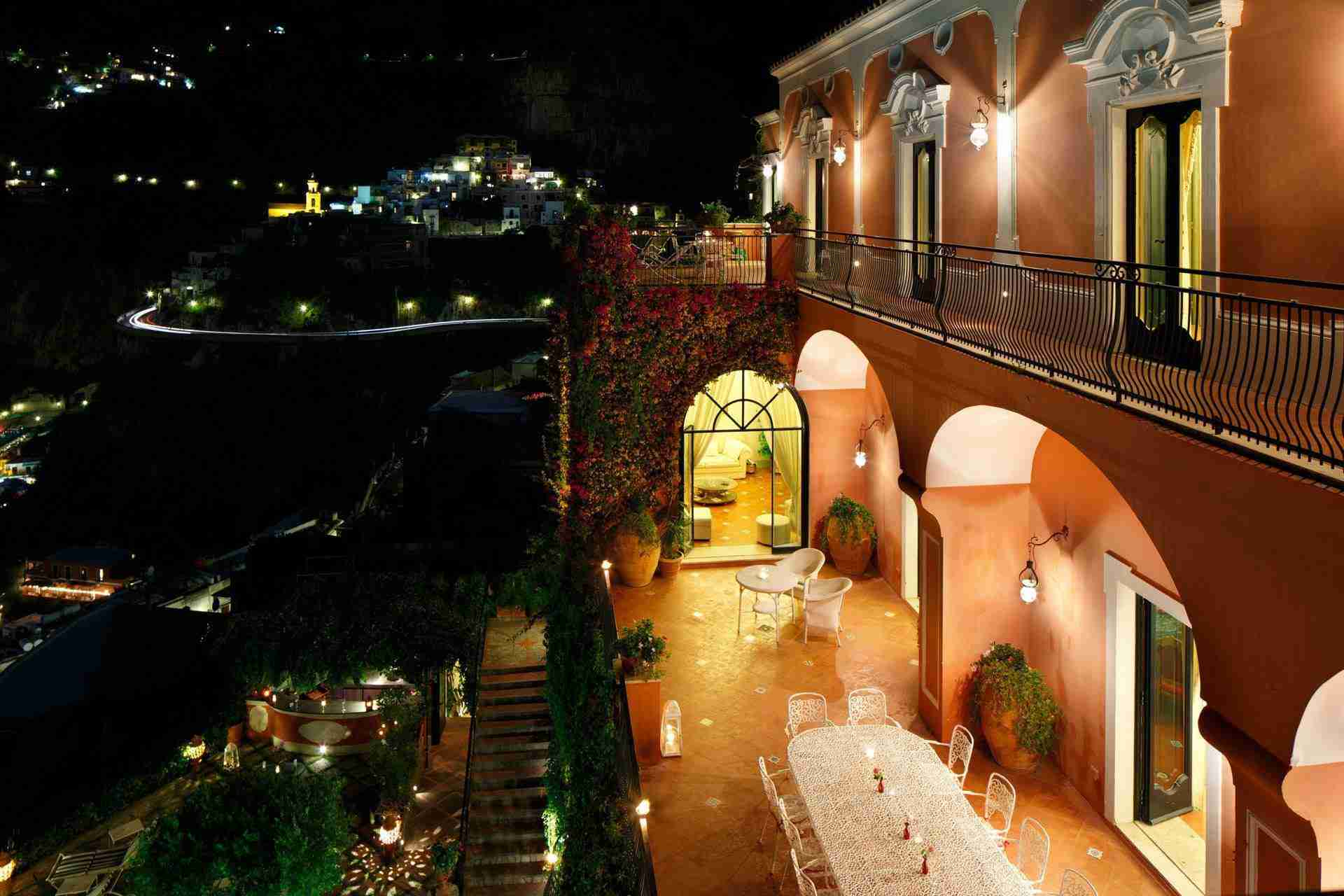 35 Positano night view