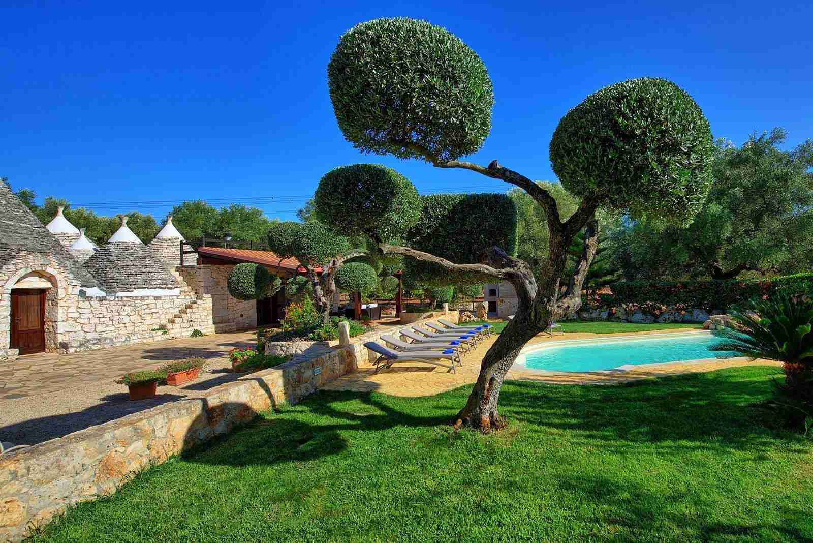 5 Sisin garden with pool