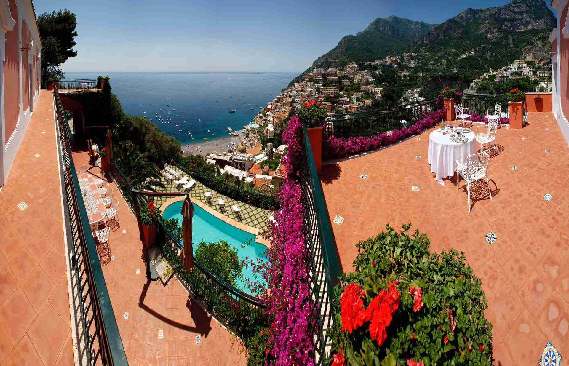 6 Positano View on Amalfi coast