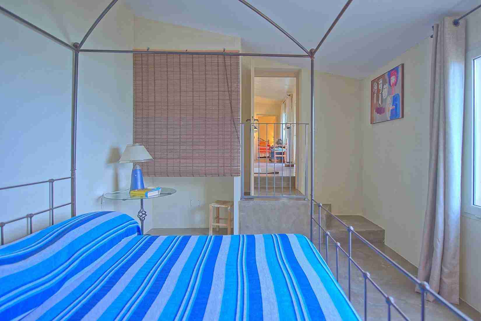 29 Mura del Bastione Blue Bedroom