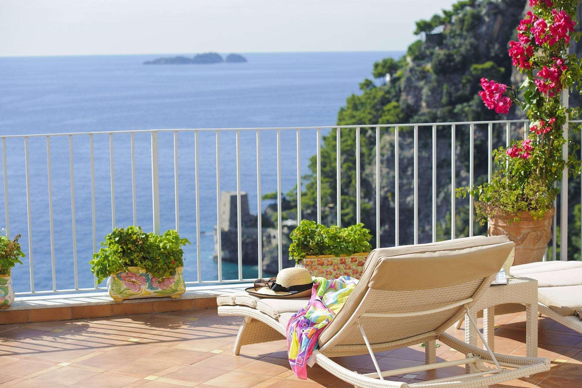 7 ninfe terrace sea view