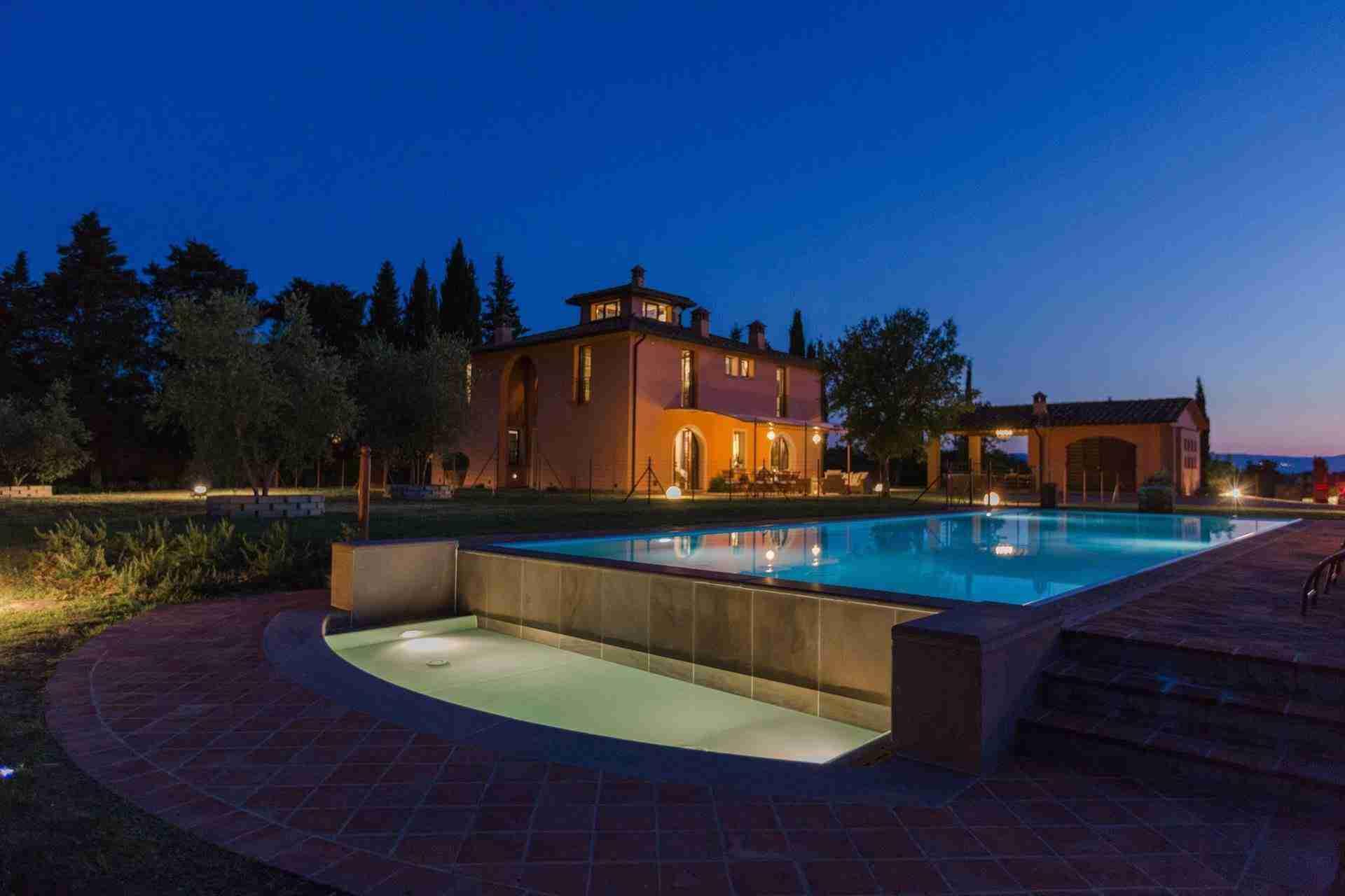 28 Dante night pool